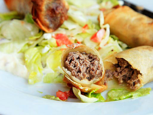 Cheeseburger Spring Rolls photo