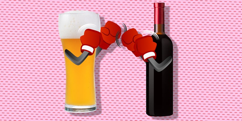 Wine holds off Beer as most Googled Alcohol Beverage of 2014 photo