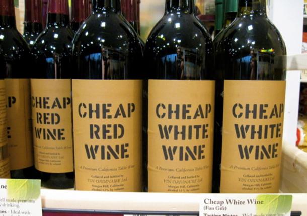 British People Love Drinking Cheap, Crappy Wine photo