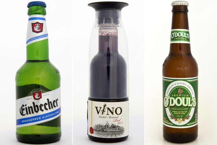 Non-alcoholic beer and wine are so hot right now photo