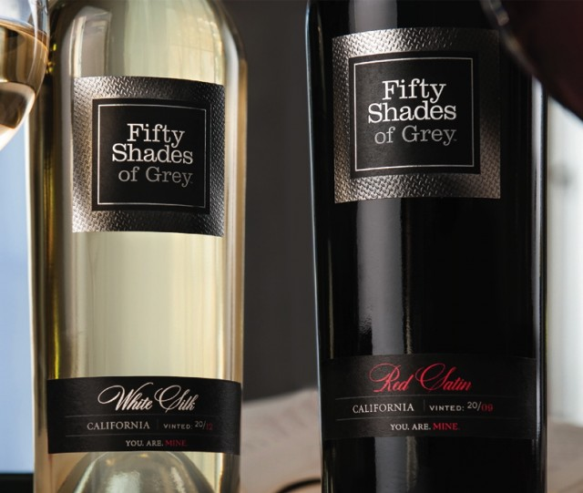 Fifty Shades of Grey -inspired wine surprises with flavor photo