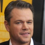 Matt Damon launches Buy a Lady a Drink initiative photo