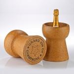 Champagne Cork Bottle Chiller photo