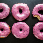 Bourbon Blueberry Basil Donuts photo