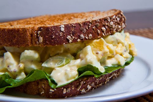 Egg Salad Sandwich Recipe for Your Flat-Belly Diet photo