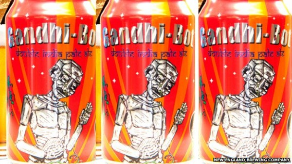 Brewery apologise for putting picture Gandhi on beer can photo