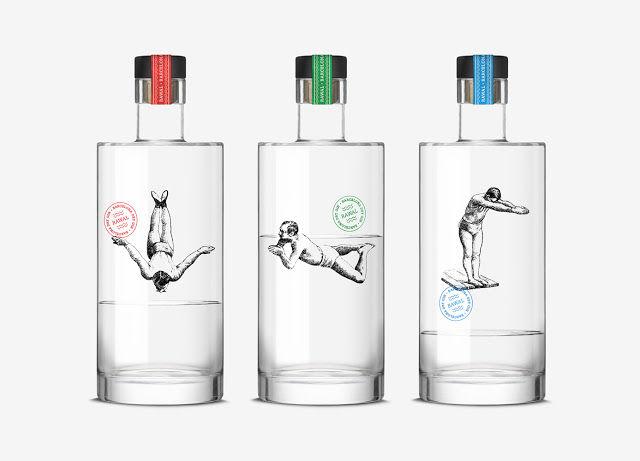 Packaging Spotlight: Gin Diver Bottles photo