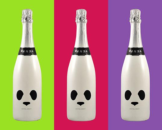 Packaging Spotlight: Panda Champagne photo