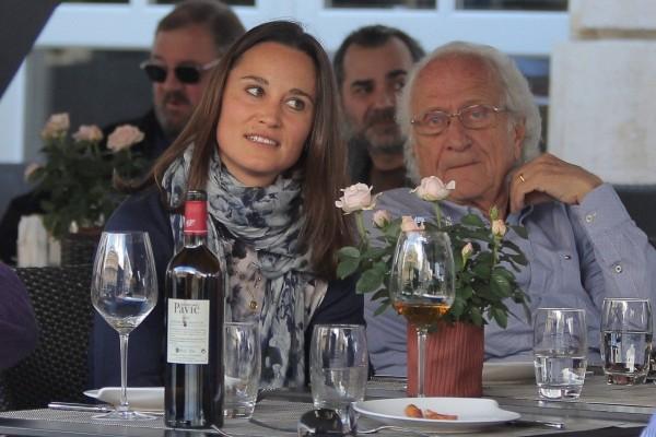 Pippa Middleton a prize wine expert photo
