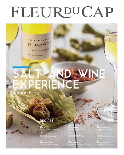 Get a Fleur du Cap Wine and Salt recipe book with tastings at Die Bergkelder photo