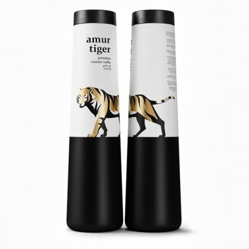Packaging Spotlight: Amur Tiger Vodka photo
