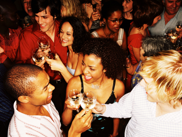 Bigger groups of friends down more drinks on a night out photo