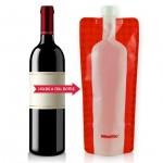 Foldable Wine Bottle Flask photo
