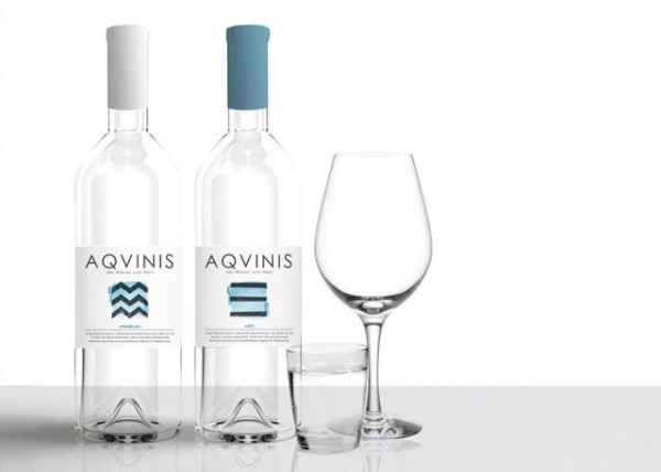 Packaging Spotlight: Wine-Inspired Water Bottles photo