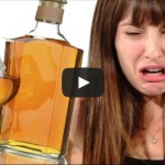 Women Drink Whiskey For The First Time photo