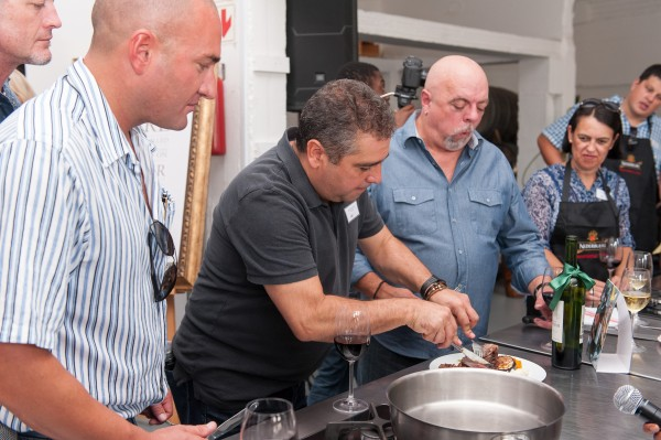 Nederburg treats Hussar Grill winners to a celebrity cook-off photo