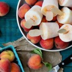 Bourbon Peaches and Cream Popsicles photo