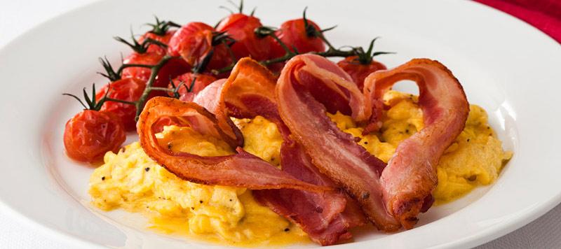 Baconhearts 800x356 3 Valentine Breakfast Ideas