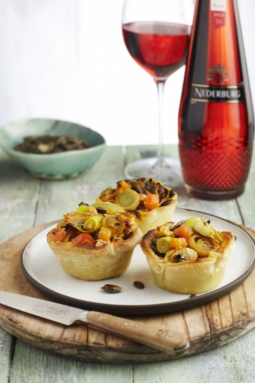 Two South African treats paired with Nederburg Foundation Rosé photo