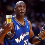 Did Michael Jordan really pound a 6 pack of beer after every single game? photo