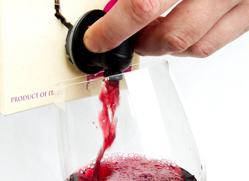 Here`s why it`s time you started drinking wine out of a box photo