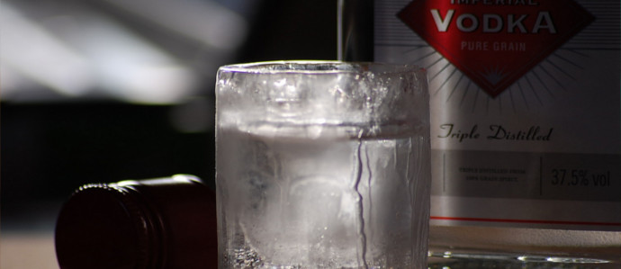 Vodka is one of the purest drinks in the world! photo