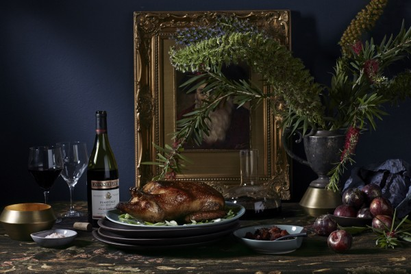 Plum meets plum with Zonnebloem Pinotage and Asian-style Duck photo