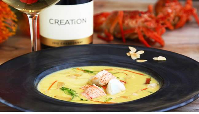 Exclusive recipes to pair with Creation Wines photo