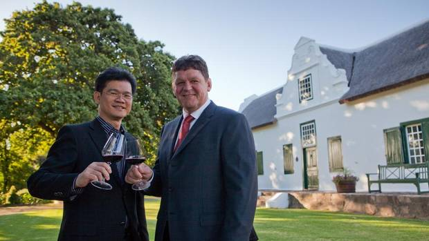 South African wineries target Chinese market's growing taste for wine photo
