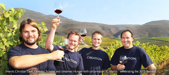 Creation welcomes 3 Swiss Interns photo