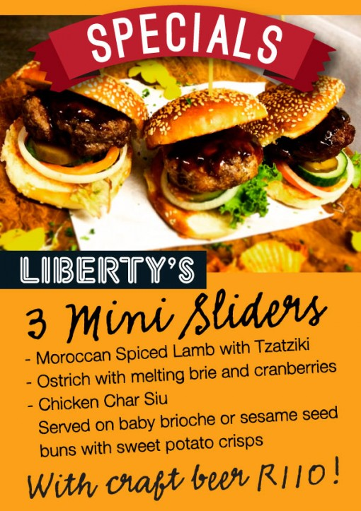 Burger sliders and craft beer nights at Liberty`s Restaurant in Woodstock photo