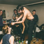 The Foals say they drank about 130 bottles of red wine while recording new album photo