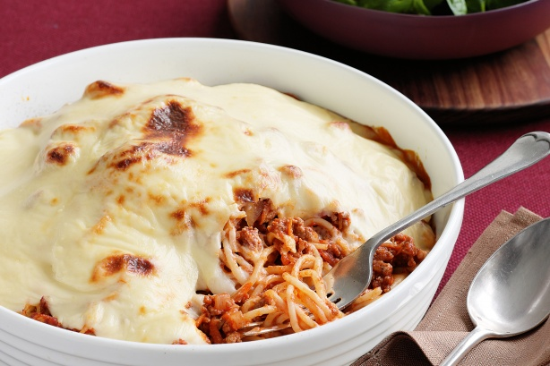 3 Cheese Bolognese Pasta photo