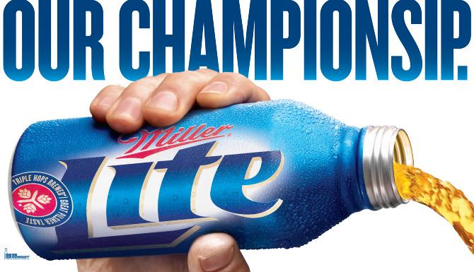 The top beer brand on Twitter is MillerLite photo