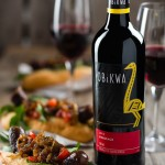 Gourmet Boerie Roll paired with OBIKWA Pinotage photo