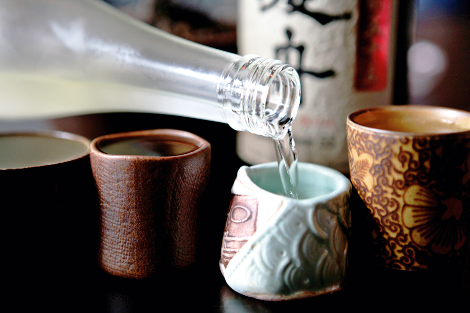 Why the Japanese serve sake in tiny cups and why you should use a wine glass photo
