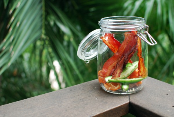 How to infuse Vodka with Bacon photo