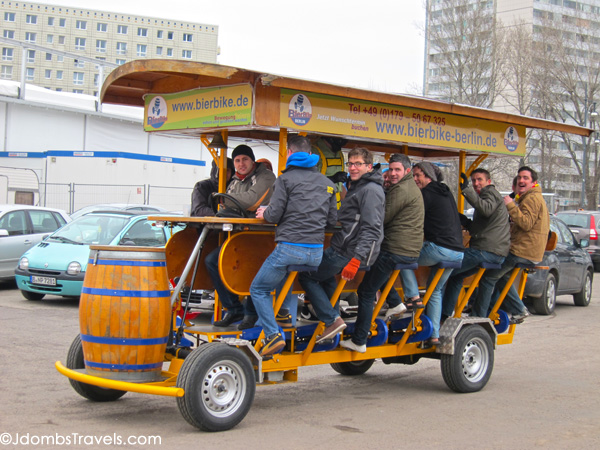 Beer Bikes may soon be offering cold beer on California streets photo