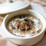Creamy Beef, Mushroom and Wild Rice Soup photo