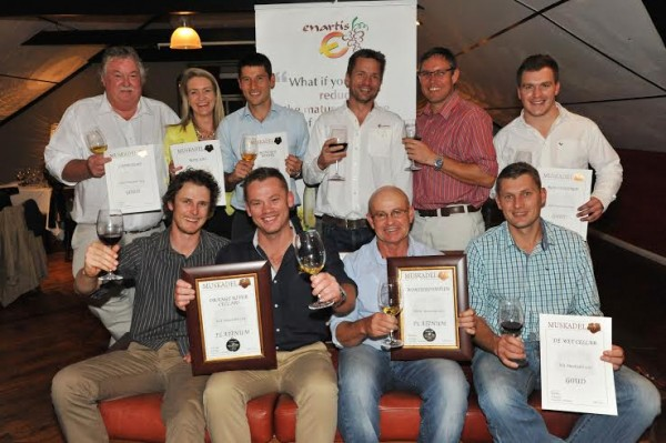 Two top wines announced at Muskadel SA 2015 awards photo