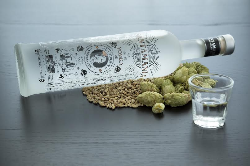 Two micro distilleries teamed-up to launch a new vodka made of artisan beer. photo