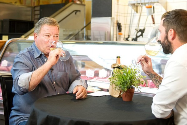 Drinking Wine with William Shatner photo
