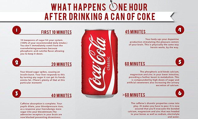 What A Can Of Coca-cola Really Does To Your Body In Just An Hour photo