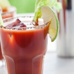 Gin and tomato juice cured hangovers before Bloody Marys photo