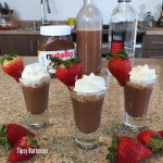 Sweeten up this weekend`s party with Nutella vodka shots! photo