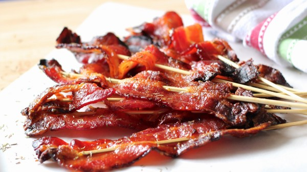 Cure those salty-sweet cravings with Bourbon Glazed Bacon photo