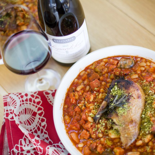 Celebrating French July with Duck Cassoulet and a Rhone-inspired wine photo