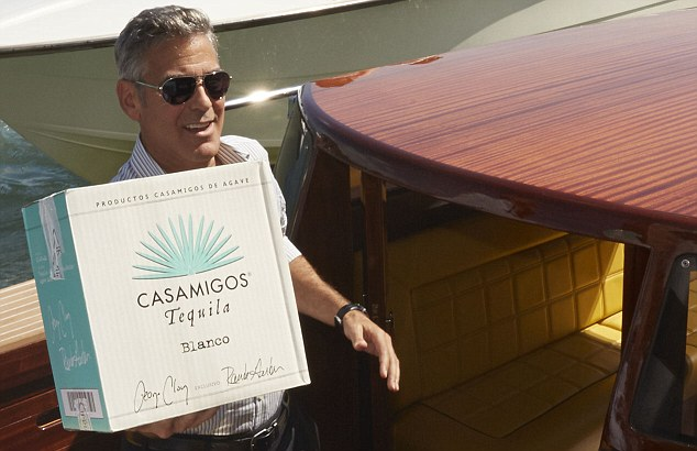So THAT`S why George Clooney is in the tequila business photo