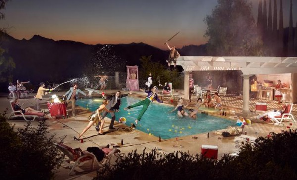 This Epic Party Shot Took 60 Frames and Lots of Champagne photo