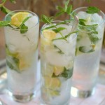 Wind down with this ultra delicious Prosecco Mojito Cocktail photo
